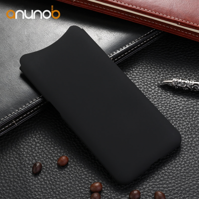 Anunob Case For Oppo Find X case Hard Plastic Rubber Covers For Oppo Find X Cases Ultra Thin Silicone Phone Protective Shell
