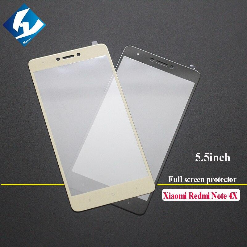bilder für 10 teile/los 9 h vollbild gehärtetem glas für xiaomi redmi note 4X4 X Displayschutzfolie 0,26mm Nano Beschichtung Glas schutz