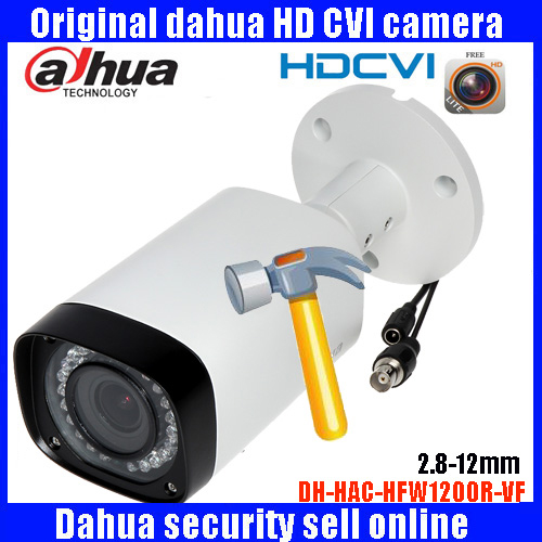 HD1080p Dahua HDCVI Camera 2MP DH-HAC-HFW1200RP-VF bullet  Security Camera CCTV IR distance 30m HFW1200RP-VF dahua hdcvi 1080p bullet camera 1 2 72megapixel cmos 1080p ir 80m ip67 hac hfw1200d security camera dh hac hfw1200d camera