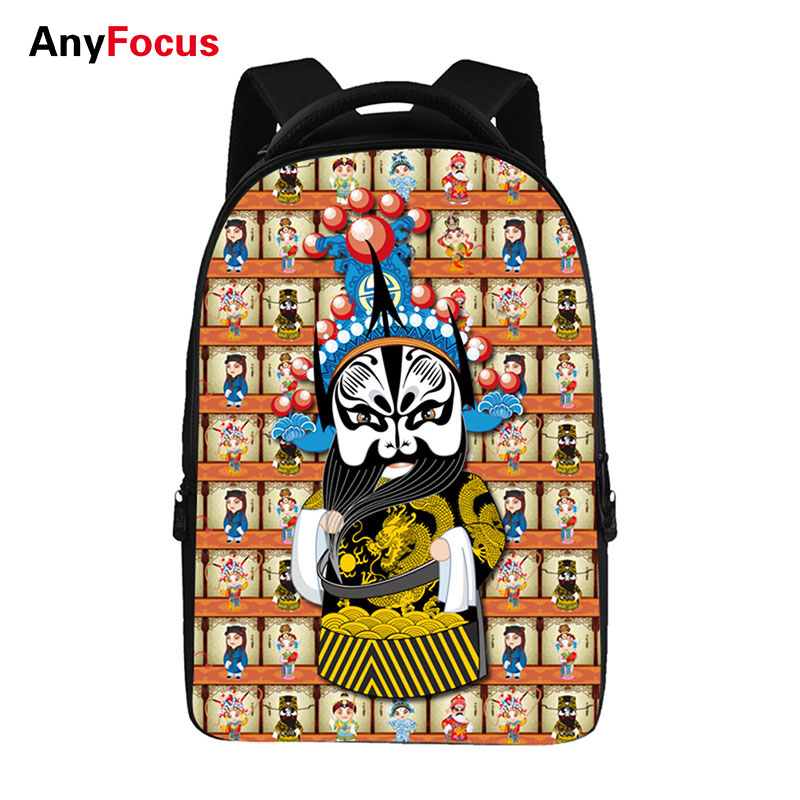 Opera drama Backpacks For Teens Computer Bag Fashion School Bags For Primary Schoolbags Fashion Backpack Best Book Bag