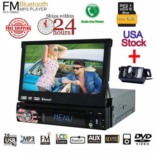 Бесплатная резервного копирования Камера gps Eincar 7 дюймов автомобилей Авторадио dvd-плеер Автомобильного головного устройства Поддержка USB SD ...