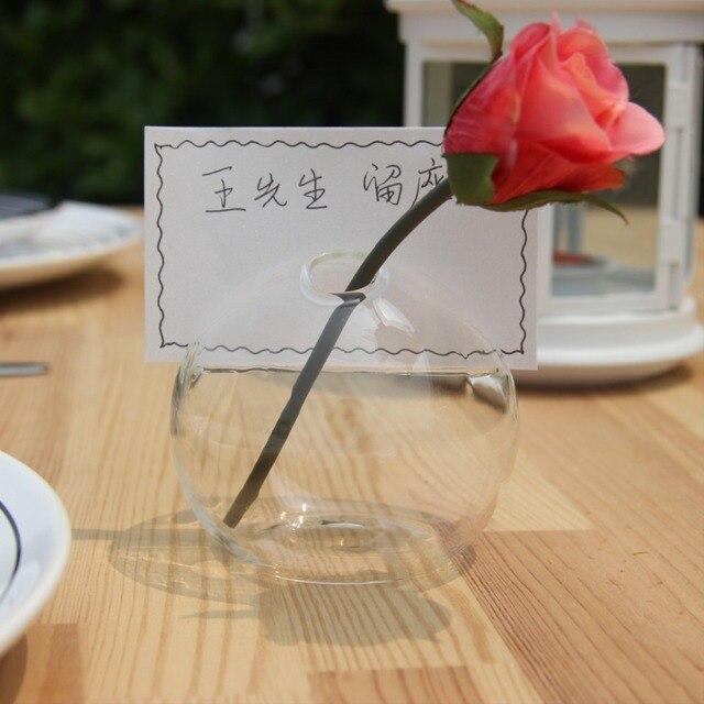 Oselif exclusive sales handmade creative business card with glass oselif exclusive sales handmade creative business card with glass vase home decor wedding decorations junglespirit Images
