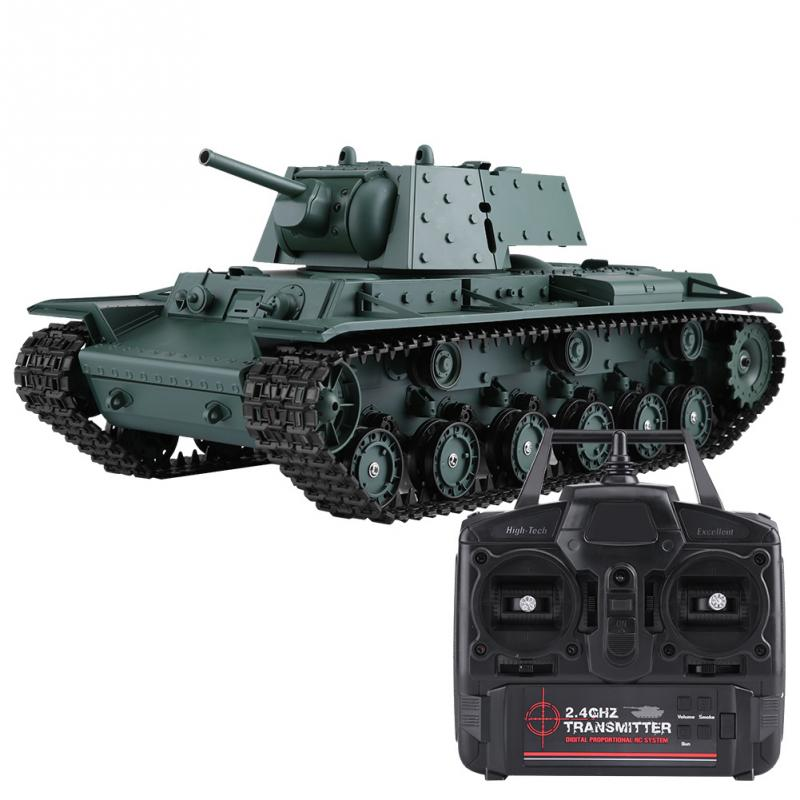 HengLong 3878 1 1 16 Scale RC Tank 2 4GHz Remote Control Tank Armored Vehicle Model