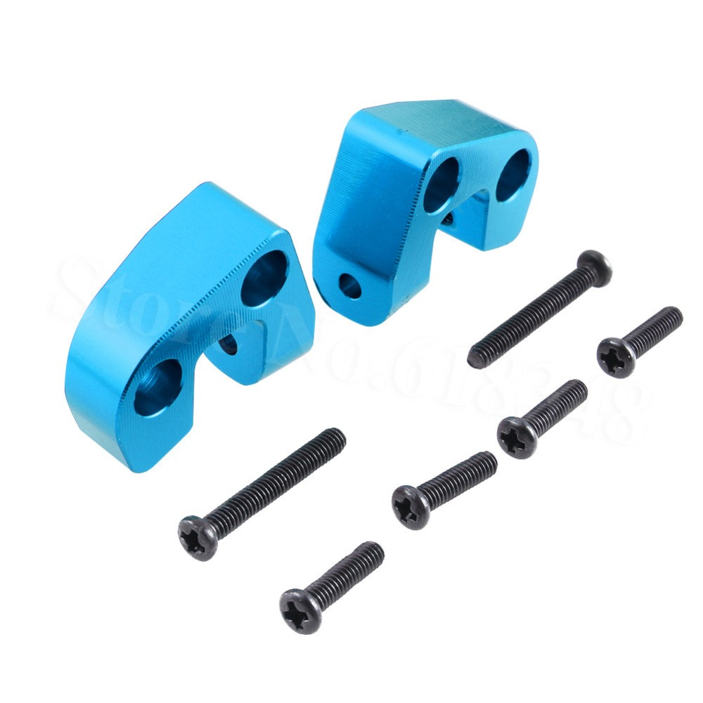 Aluminum Rear Supenstion Arm Mount Base 0042 For FY-03 WLtoys 12428 12423 1/12 RC Car Crawler Short Course Truck Upgrade Parts wltoys 12428 12423 1 12 rc car spare parts 12428 0091 12428 0133 front rear diff gear differential gear complete