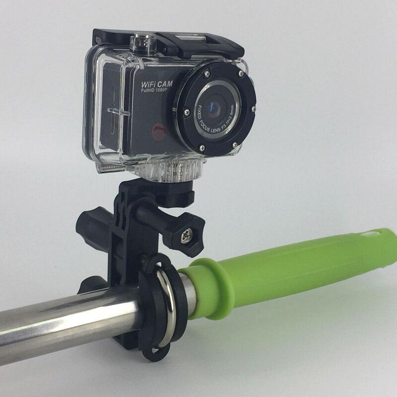 Winait full hd 1080p caméra d'action wifi étanche avec télécommande app contrôle caméra vidéo sport numérique
