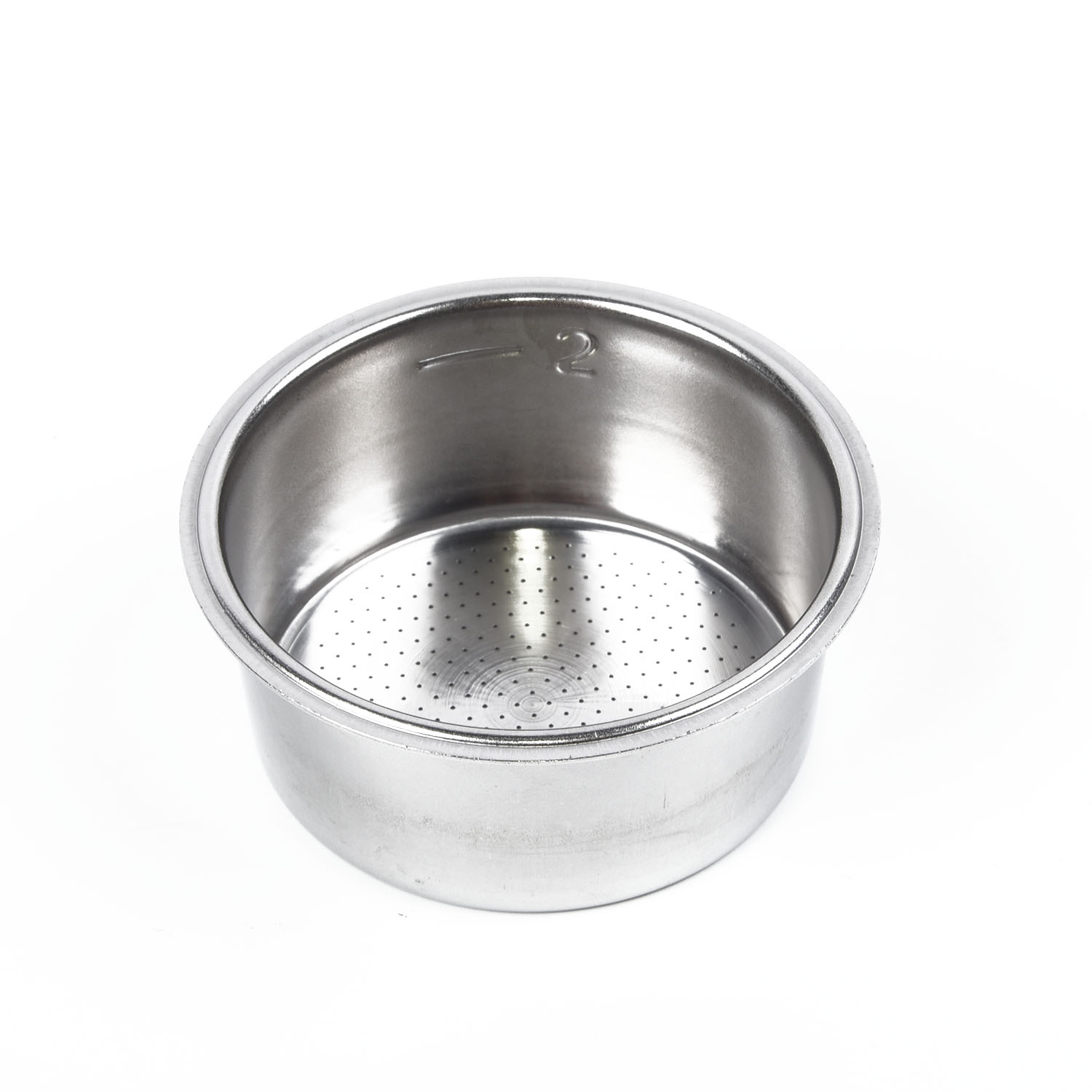51mm Stainless Steel Coffee Filter Refillable Non Pressurized For Breville Delonghi Krups Coffee Capsule Coffeeware