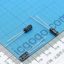 50pcs/lot  4x7MM Electrolytic capacitor  50V3.3UF 16V33UF 10V100UF 50V0.47UF 50V0.22UF  4*7mm
