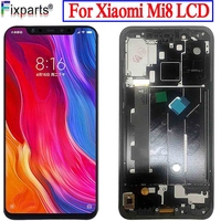TFT LCD Screen For Xiaomi Mi 8 LCD MI 8 Display Digitizer Assembly Touch Screen Replacement 6.21 For Xiaomi Mi8 LCD Mi 8 LCD