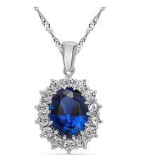 Качественный кулон aaaa + циркониевое ожерелье ювелирные аксессуары
