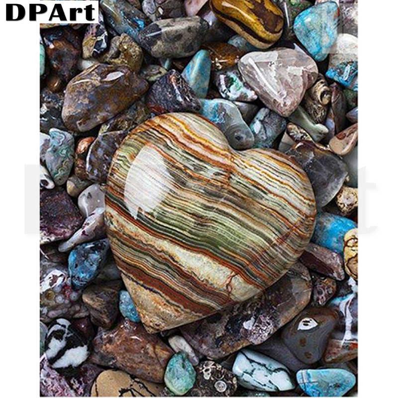 Diament malarstwo pełne placu/okrągły wiertło w kształcie serca kamień 5D diament zestaw do haftu zestaw do haftu mozaika Rhinestone t120
