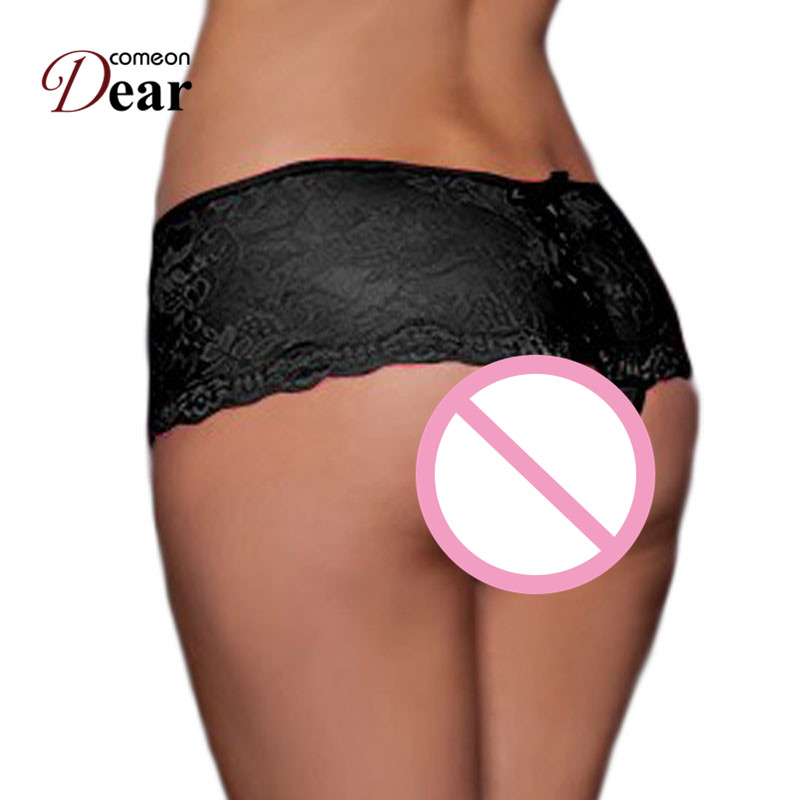 Comeondear Hot Sale Sok színes női 2017 Plus méretű új szexi női fehérnemű Majtki Damskie Wysokie PB5011 Crotchless nadrágos