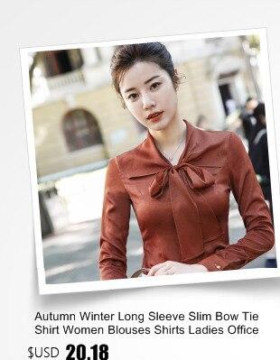 8aeb5c1a06520 Click here to Buy Now!! جديد الربيع الخريف الجدة ضئيلة الأزياء طويلة  الأكمام موحدة أنماط سيدات الأعمال بلوزة قمصان الإناث قمم السيدات Blusas  الملابس