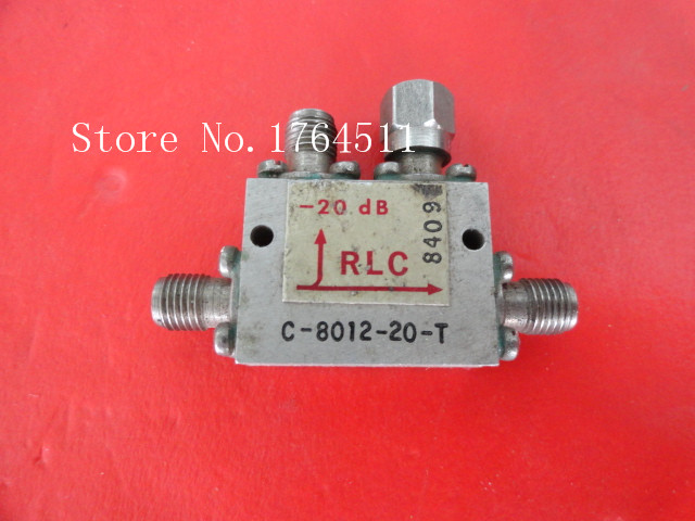 [BELLA] RLC C-8012-20-T 6-12GHz Coup:20dB SMA Supply Coupler