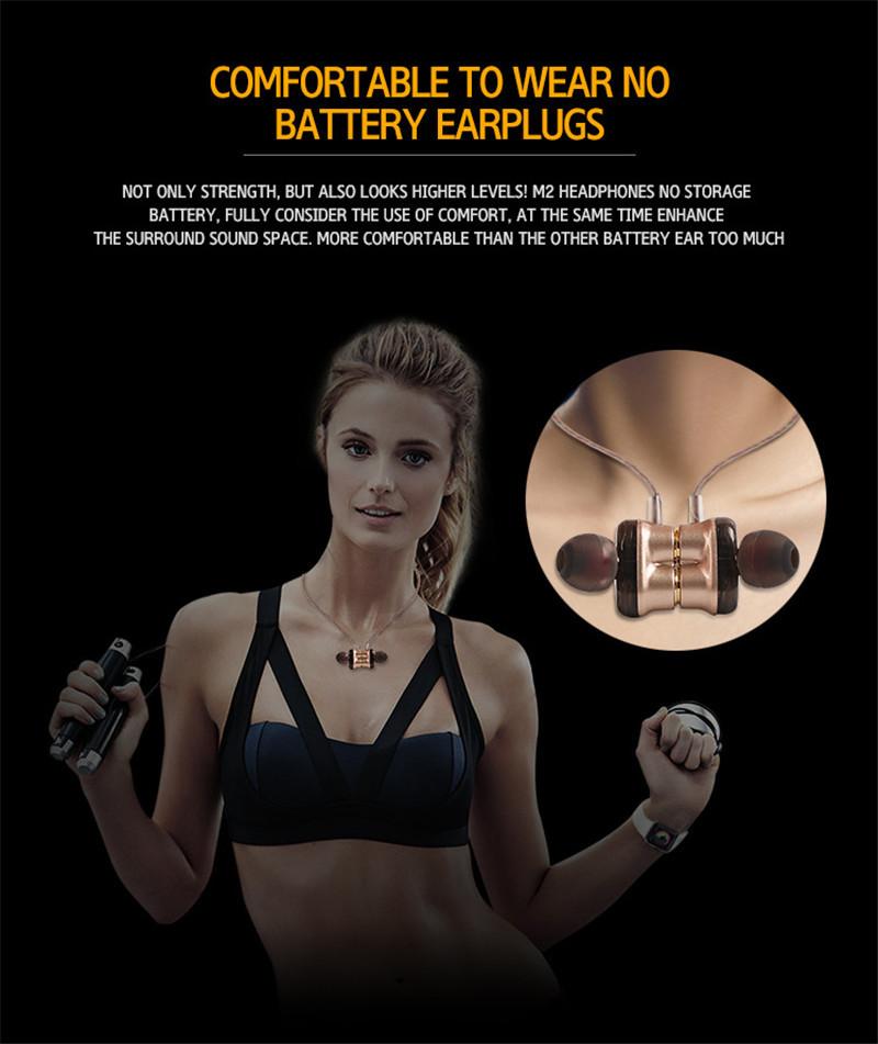 4.1 Running Sport Magnet Bluetooth Headset headphone 15