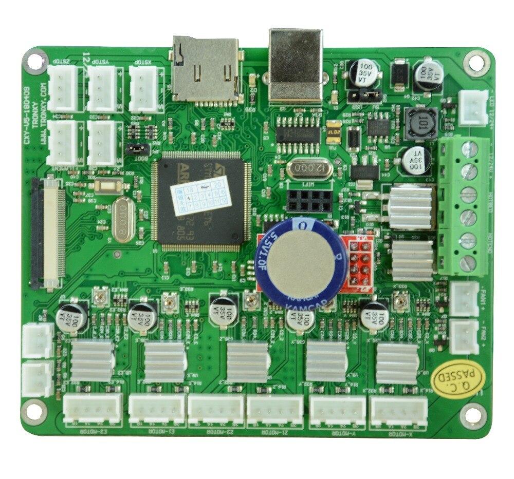 TRONXY X5S series mainboard de impressora 3d SD card display LCD tela 110*90*28
