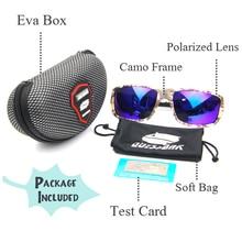 UV400 Camo Polarized Fishing Sunglasses Driving Running Skiing Eyewear Outdoor Camping Hiking Camouflage Sports Fishing Glasses