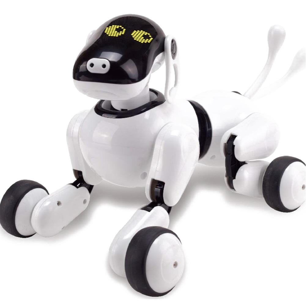 Jouet Intelligent de chien de Robot de voix Application sans fil contrôlée chiot parlant électronique interactif pour le compagnon de jeu d'enfants d'animal familier