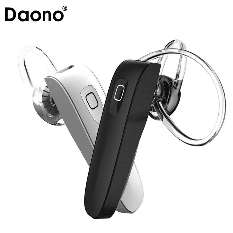 Original DAONO B1 stereo headset bluetooth earphone headphone mini V4.0 wireless bluetooth handfree universal for Phone mp3