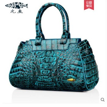 Yuanyu New crocodile handbag for lady imported crocodile handbag for lady genuine crocodile handbag for lady handbag фото
