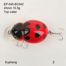 Eupheng Lifelike 3D Eyes Fishing Lure High Quality Treble hook Artificial Hard Bait Treble Hook Crankbait 19 colors Bait Minnow
