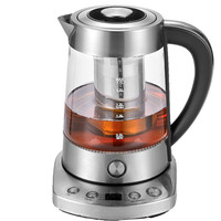 Electric Kettle Multi Function Glass Health Tea Pot Black Brewed Maker Flower Teapot Electric Safety Auto