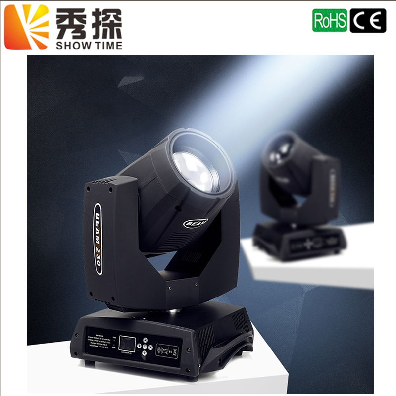 ShowTime Sharpy beam moving head light 230w beam 7r moving head beam 230 light Professional stage lighting Wedding DJ Bar 7r beam sharpy moving head light 230w white housing moving head beam stage light beam 230 dmx dj disco club lighting