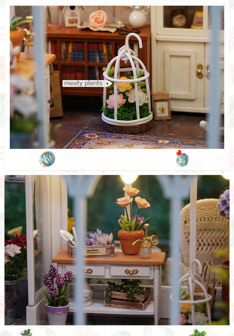 Sunshine Garden DIY Dollhouse