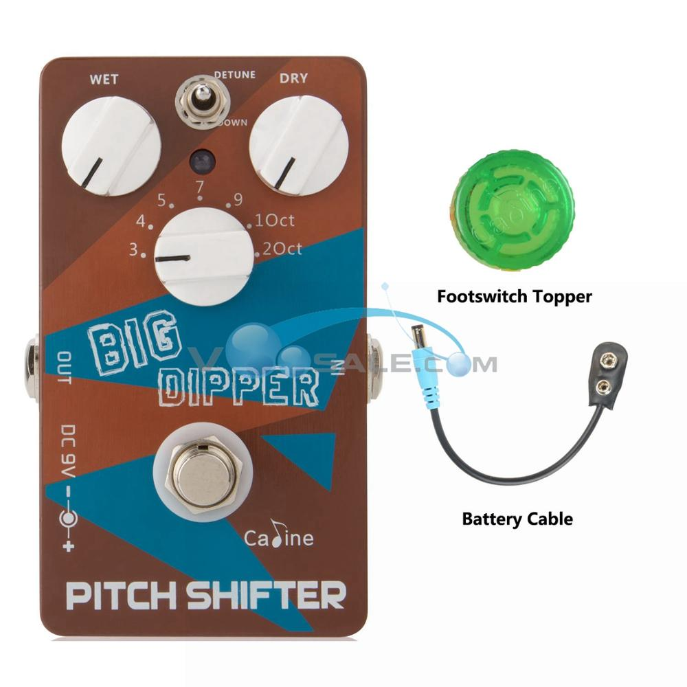 Caline CP 36 Pitch Shifter Guitar Effects Pedal Pitch Shifter Big Dipper Guitar Effect Accessories with