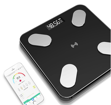APP Bluetooth smart weight scale body fat scale men and women to lose weight fat visceral fat musculoskeletal test health scale цена и фото