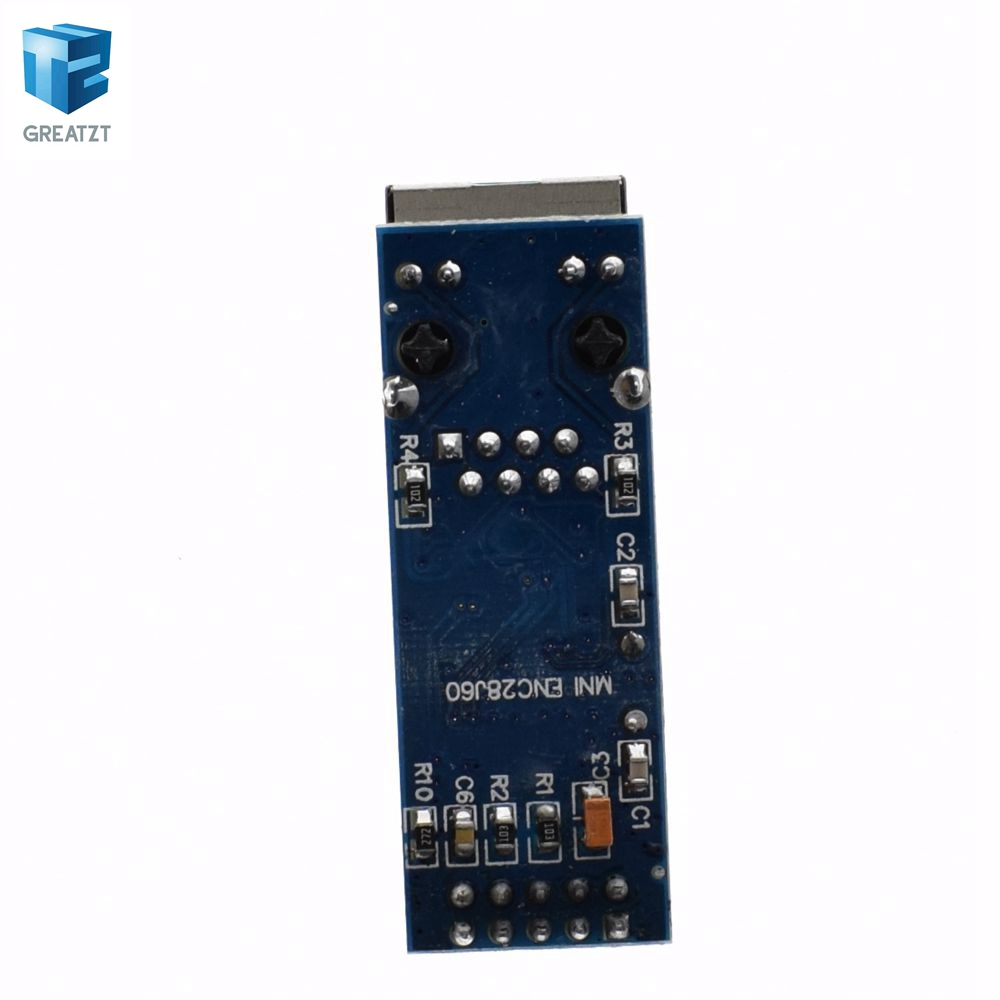 Image 4 - 10PCS/LOT mini ENC28J60 LAN Ethernet Network Board Module 25MHZ Crystal AVR 51 LPC 3.3V+-in Integrated Circuits from Electronic Components & Supplies