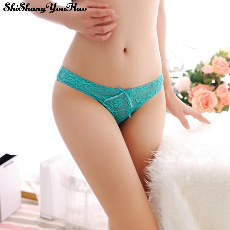 Women Underwear Sexy Lace Women'S Panties Transparent Briefs Seamless Panties Lingerie Women Female Thong Underpants Tanga 1151#
