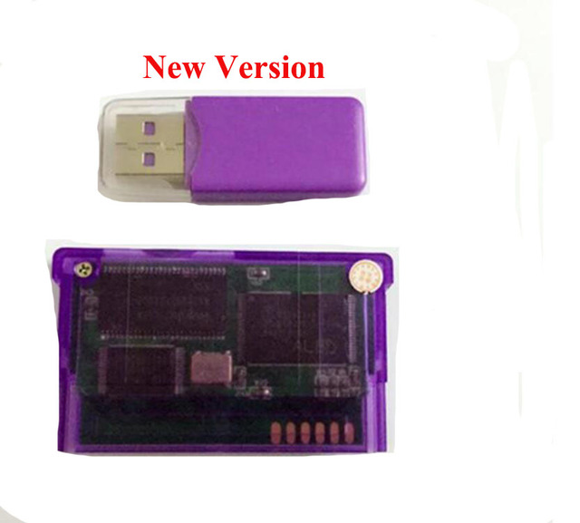 New Version Support TF Card For GameBoy Advance Game Card game