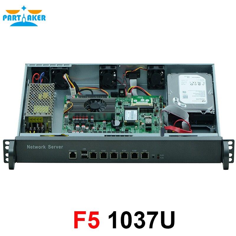 Intel 1037U dual-core 1.8GHz Network Software Router 1U Network Server