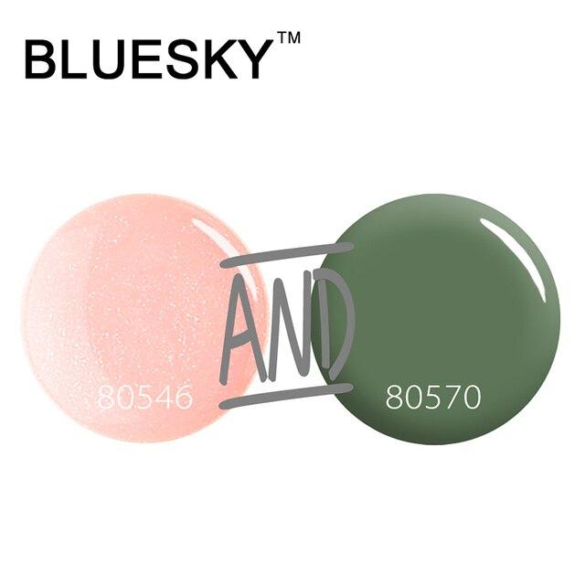 Bluesky Classic 80546 80570 Nail Gel 10ml UV led Gel Polish