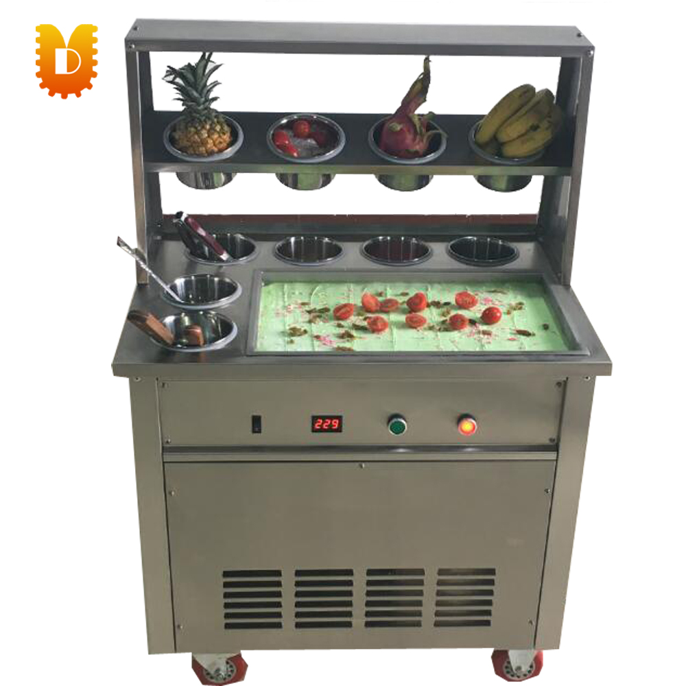 pan 50*30cm with 10 small bottles ice frying machine yogurt fryer edtid new high quality small commercial ice machine household ice machine tea milk shop