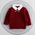 Inverno Crianças Camisolas Dos Miúdos Dos Desenhos Animados Meninas Meninos Sweaters Pulôver de Manga Comprida Casual Engrossar Quente Casaco Roupas de Bebê