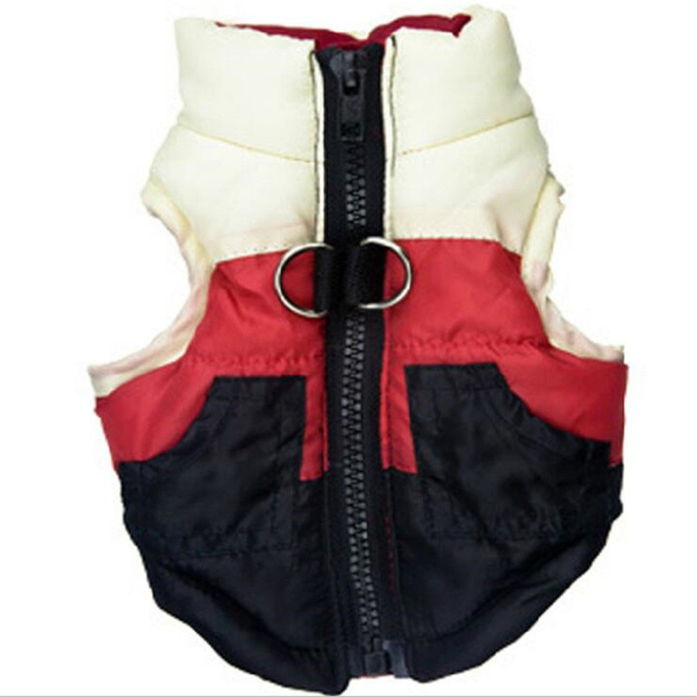Hot Sale Pet dog clothes for Winter Warm Pet Dog Clothes Hooded Thick Cotton Cat Puppy Dogs Coat Jackets