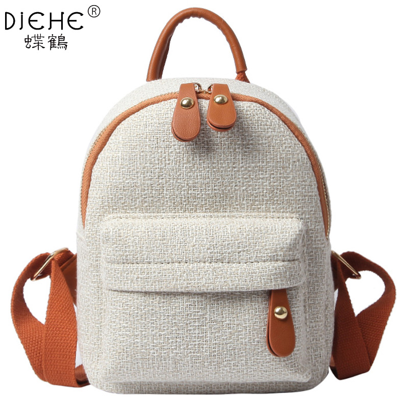 New Fashion Women Cute Backpack Mini Casual Bag Girl Small School Backpacks For Teenagers Ladies Shoulder Bags Mochila Feminina