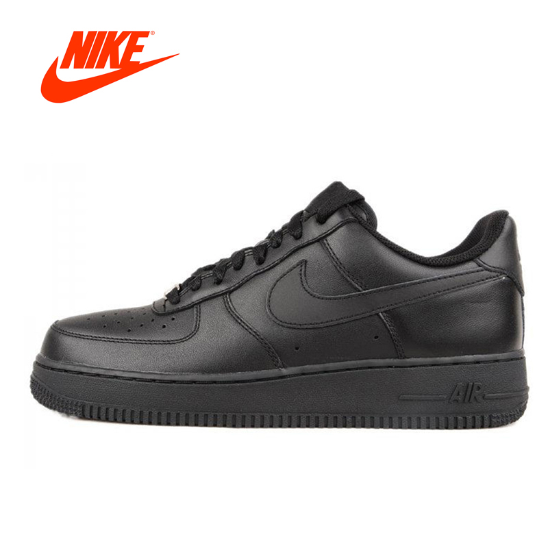 Original New Arrival Authentic Nike AIR FORCE 1 AF1 Men Breathable Skateboarding Shoes Sport Outdoor Sneakers 315122-001