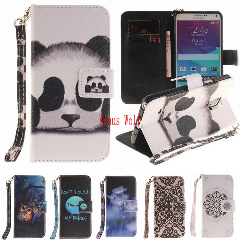 New Wallet Flip Case For Capas Samsung Galaxy Note 4 Case Leather Flip Cover  Luxury Phone Case For Samsung Galaxy Note 4 Cover bbeace275a09