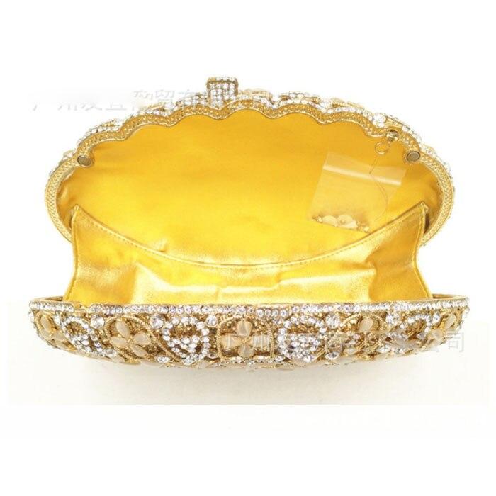 Sacs À Color Cristal Mariage Diamant Mariée Sac Luxe Main As Soirée De Pochette Banquet D'embrayage Femelle Partie D'or Pictur Same Pierre Dame Femmes YqA4w7