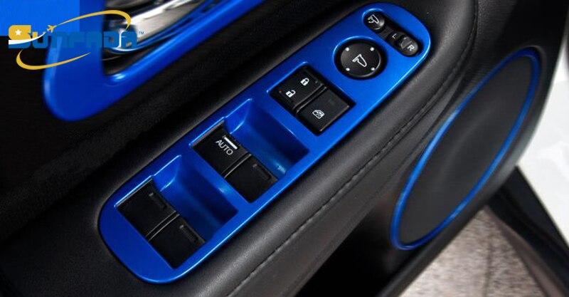Lhd Abs Chrome Paint Armrest Trim Interior Frame Decoration Auto Moulding For Honda