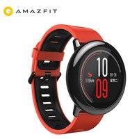 Оригинальный Xiaomi Huami AMAZFIT часы Pace спортивные умные часы английская версия пульсометр gps Bluetooth 4,0 для Android Ios