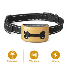 Pet Dog Safety Anti Bark Collars Rechargeable Vibration/Electric Shock Waterproof Stop Barking Training