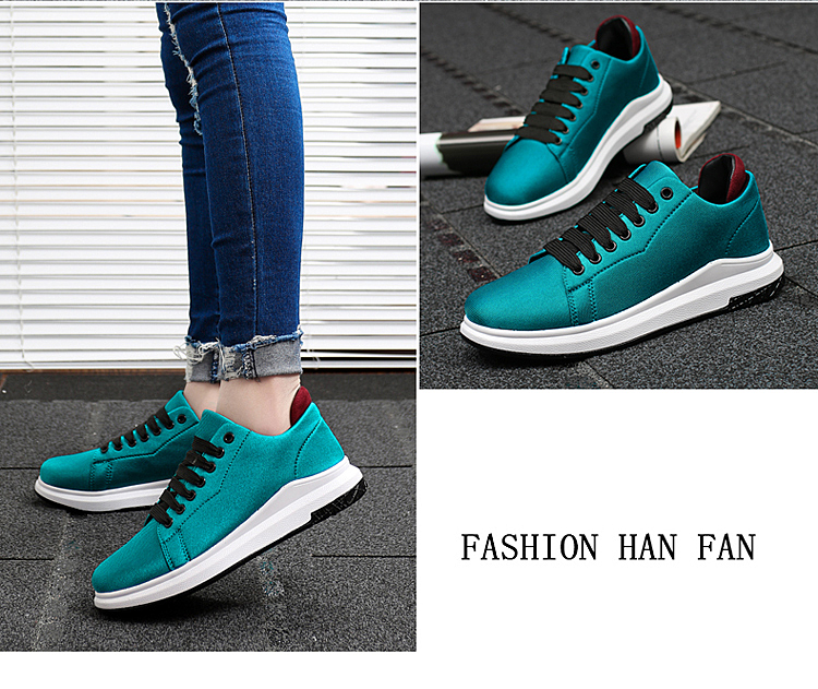 Stretch Fabric Casual Shoes Woman 2017 Fashion Spring Lace Up Ladies Shoes Breathable Women\'s Vulcanize Shoes Superstars ZD68 (19)