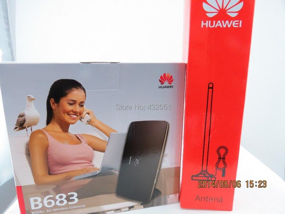 Free SMA External Antenna +28M 4G router gateway Huawei B683