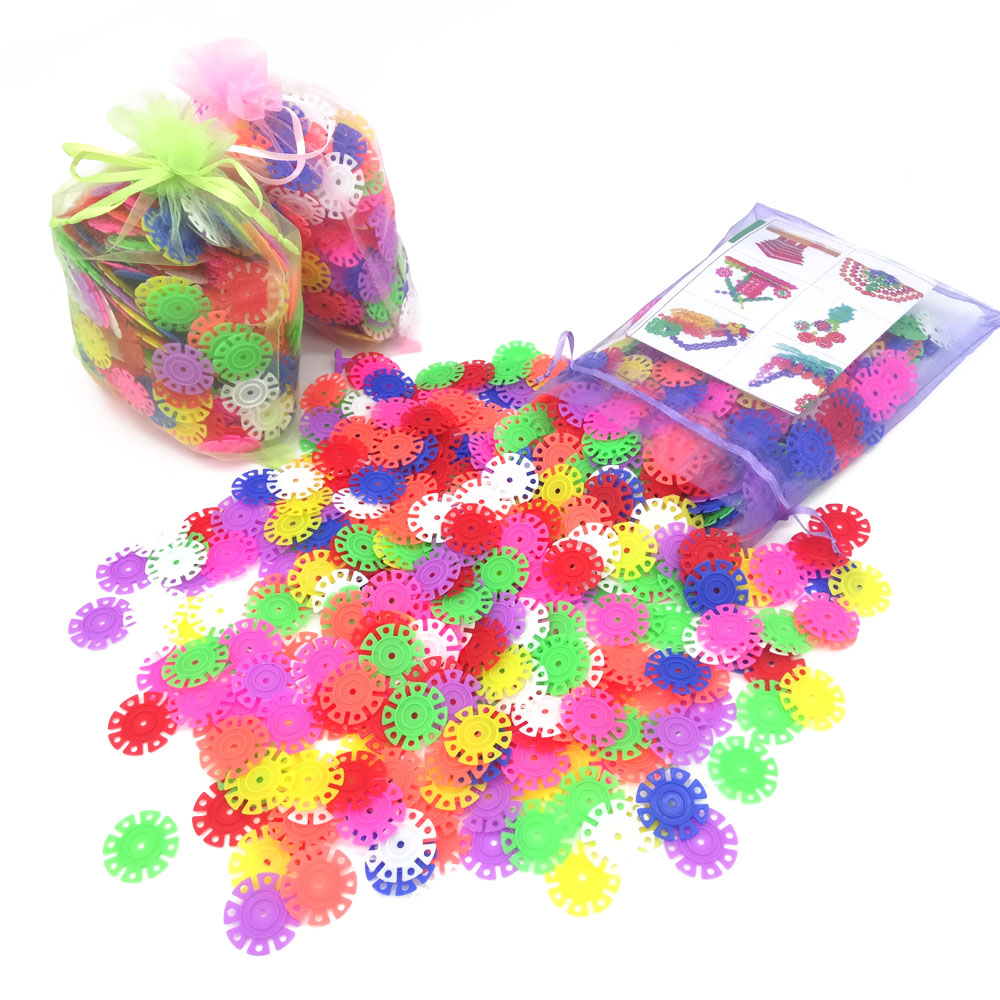 With-Instructions-150Pcs-3D-Puzzle-Plastic-Snowflake-Building-Blocks-Educational-Toys-for-Children-Beautifully-Packaged-3