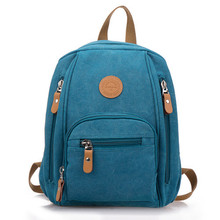 Wholesale Korean leisure backpack and canvas on behalf of students