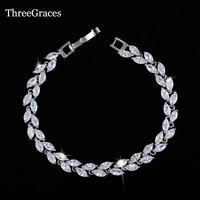 2015 Luxury Bridal Bracelet Sliver Plated Sparkling White Cubic Zircon Diamond Women Bracelets For Wedding Jewelry