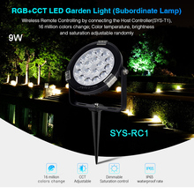 MiBOXER DC24V 9W/15W RGB+CCT LED Garden Light Waterproof IP65 Subordinate Lamp,1 CH Host Controller,1 signal power amplifier
